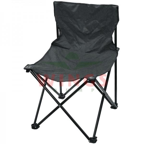 Quad chair opvouwbare stoel zwart