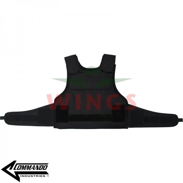 Commando Industries kogelwerend vest zwart