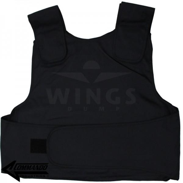Commando Industries steekwerend vest zwart