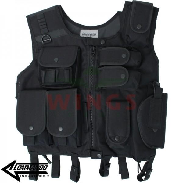 Commando SWAT vest zwart