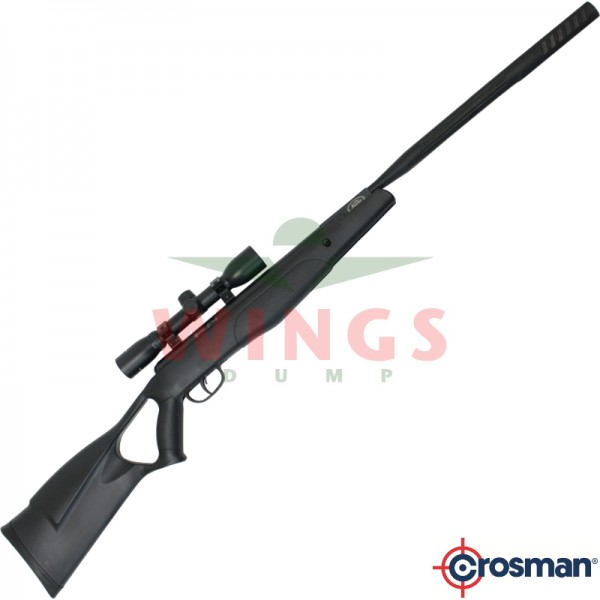 Crosman F4 Quiet Fire met scope 4,5 m.m.