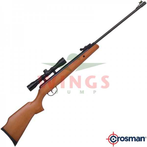 Crosman Optimus met scope 5,5 m.m.
