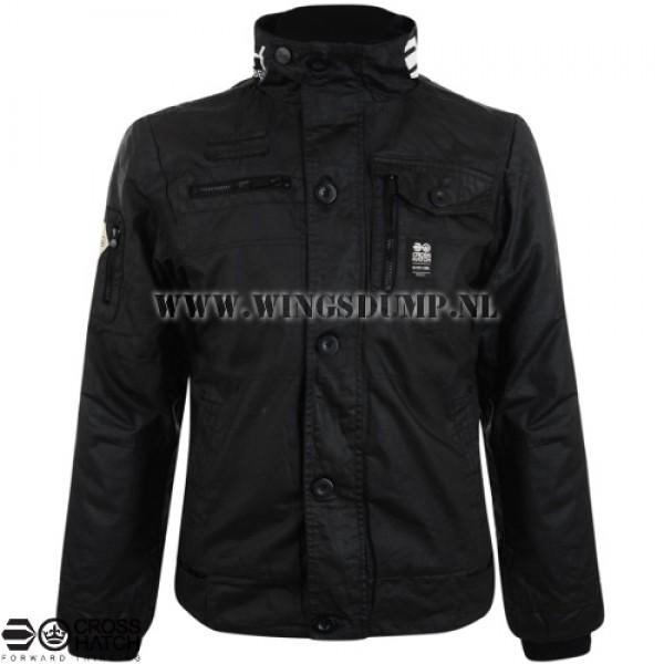 Crosshatch coated jack zwart