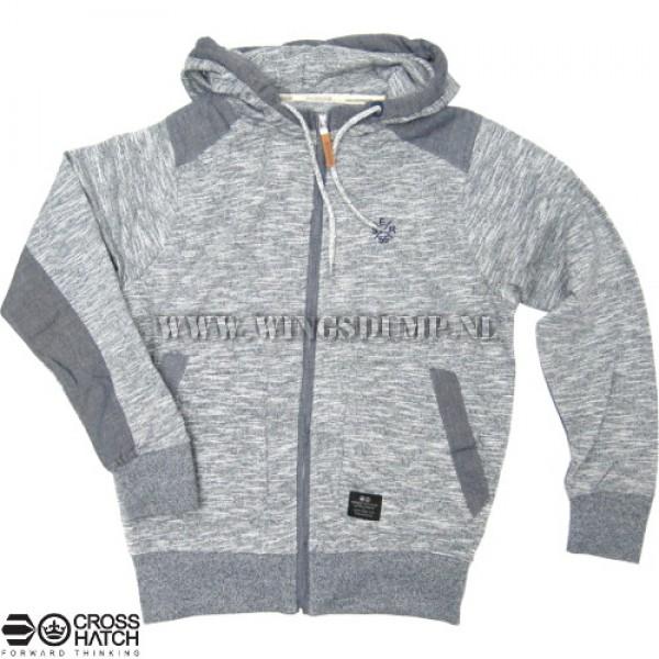 Hooded vest Crosshatch Ser55 navy melee