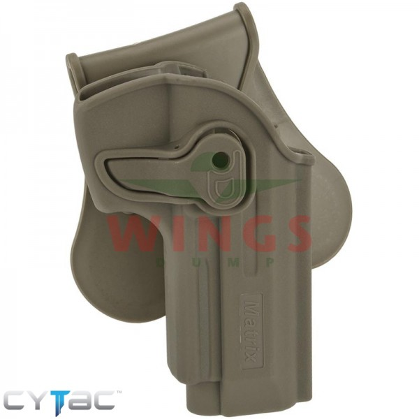 Cytac rotating paddle holster voor Beretta fde