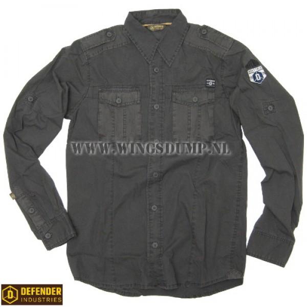 Defender Rotor shirt antraciet