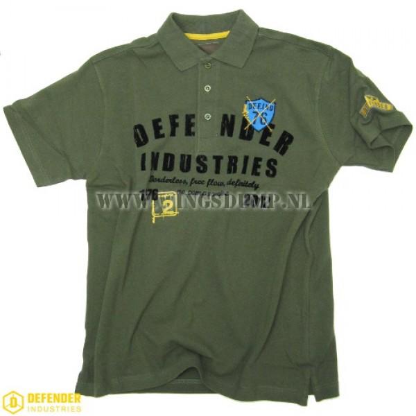 Defender Corps poloshirt groen