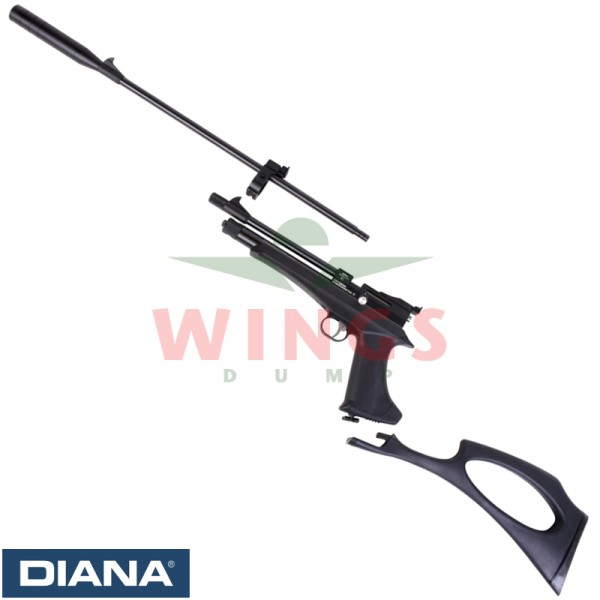Diana Chaser co2 rifle set 4,5 m.m.