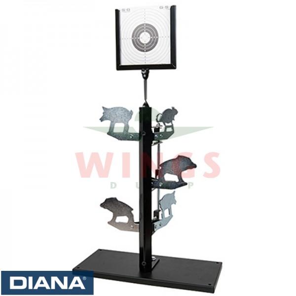 Diana flip target 63cm. hoog