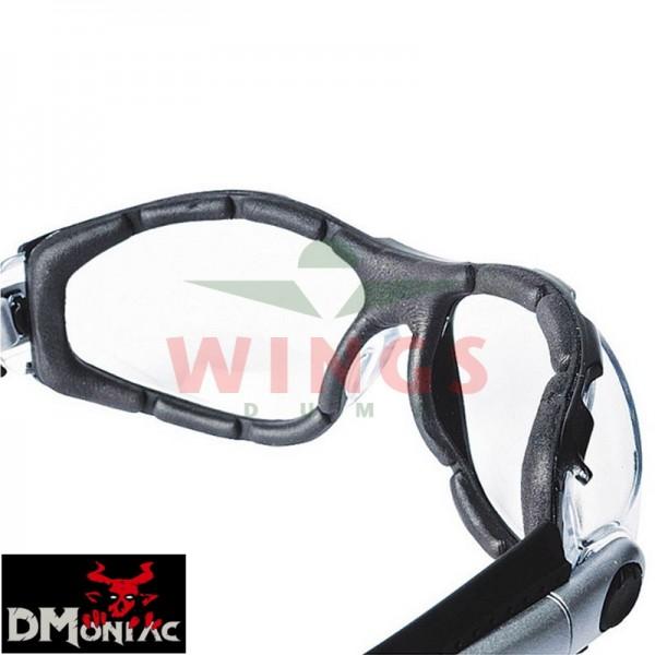 Dmoniac profoam bril clear glasses
