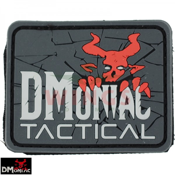 Embleem 3D pvc DMoniac Tactical