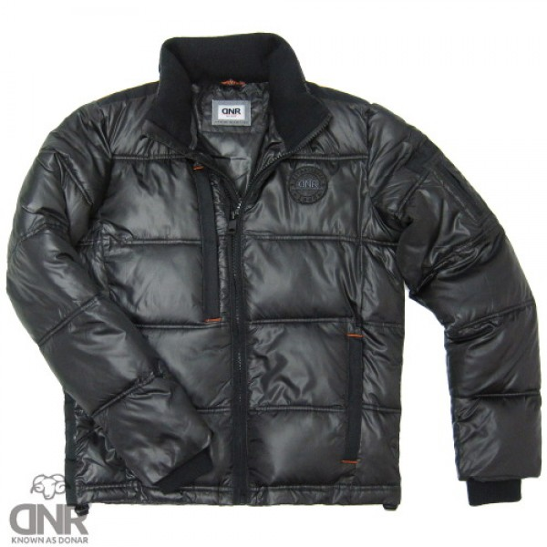 DNR bubble coat zwart