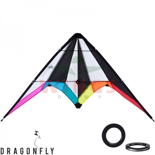 Stuntvlieger delta shape Dragonfly Bise 115