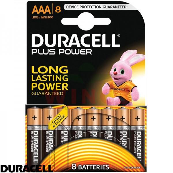 Duracell AAA batterij 8-pack