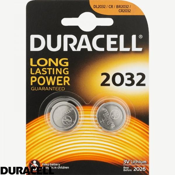 Duracell CR 2032  batterij 2 stuks