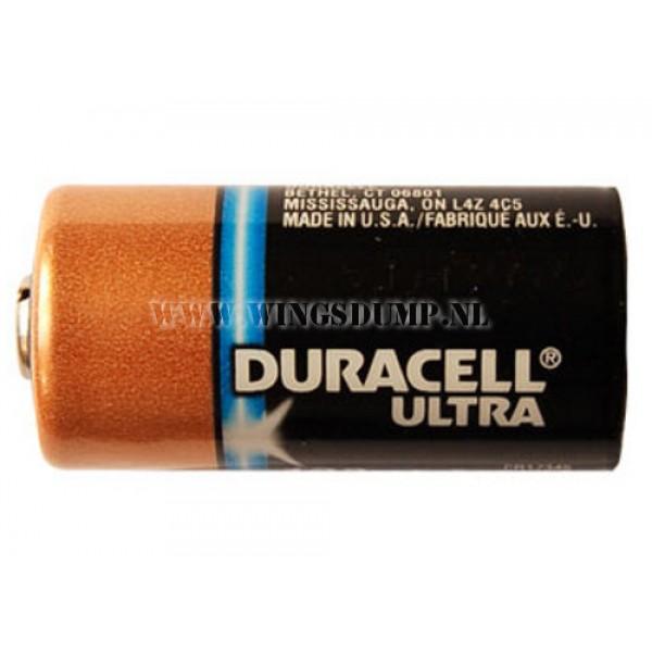 Duracell CR123A  batterij