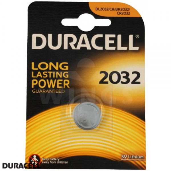 Duracell CR 2032  batterij