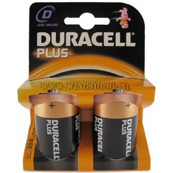 Duracell D Cell batterij