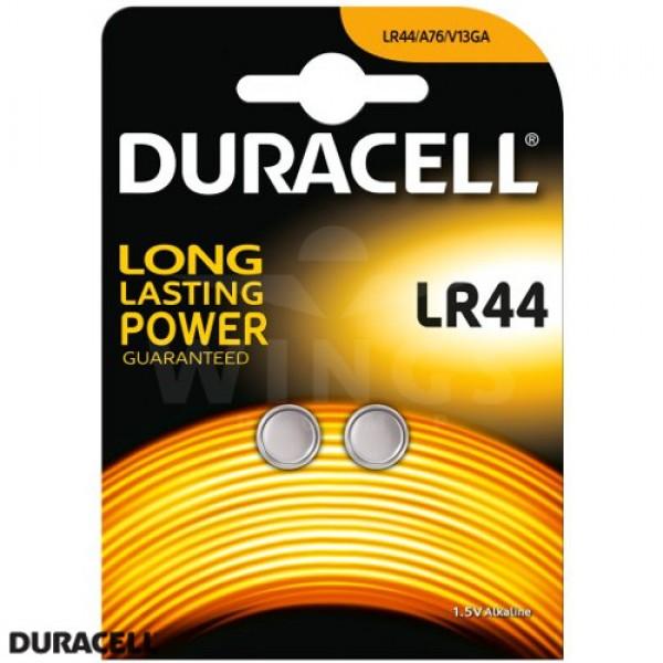 Duracell LR 44 batterij duoset