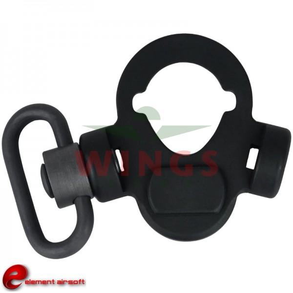 CQD rear sling mount met qd swivel ambi small