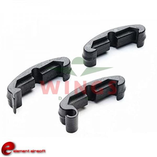 Element tactical index clips zwart 30 stuks