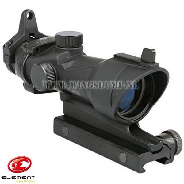 Acog scope 4 x 32 Weavermount zwart