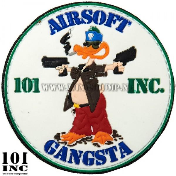 Embleem 3D pvc airsoft gangsta