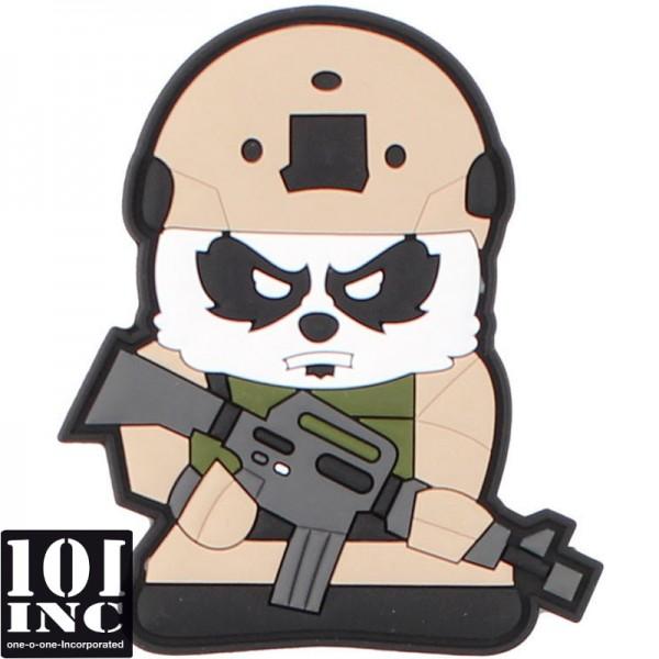 Embleem 3D pvc tactical panda