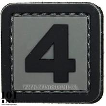 EMBLEEM 3D PVC NUMBERS