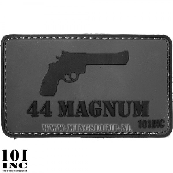 Embleem 3d pvc 44 Magnum grijs