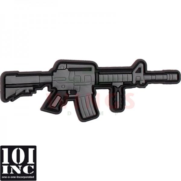 Embleem 3d pvc AR-15 cartoon