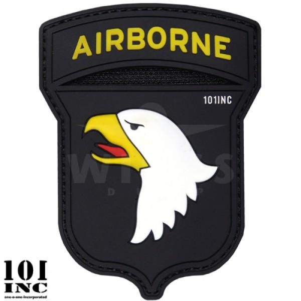 Embleem 3D pvc 101Inc. airborne
