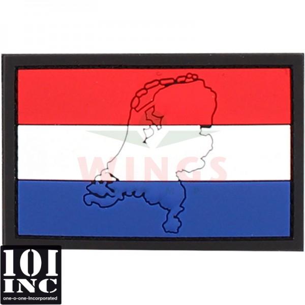 Embleem 3D pvc Nederland contour