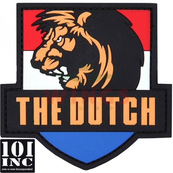 Embleem 3D pvc the Dutch met leeuw