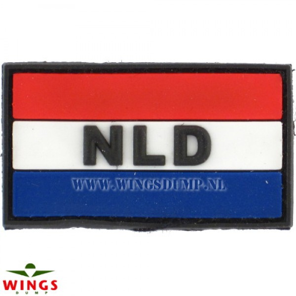 Embleem 3D pvc Nederland NLD