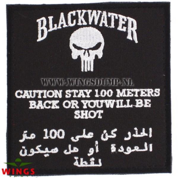 Embleem Blackwater met velcro