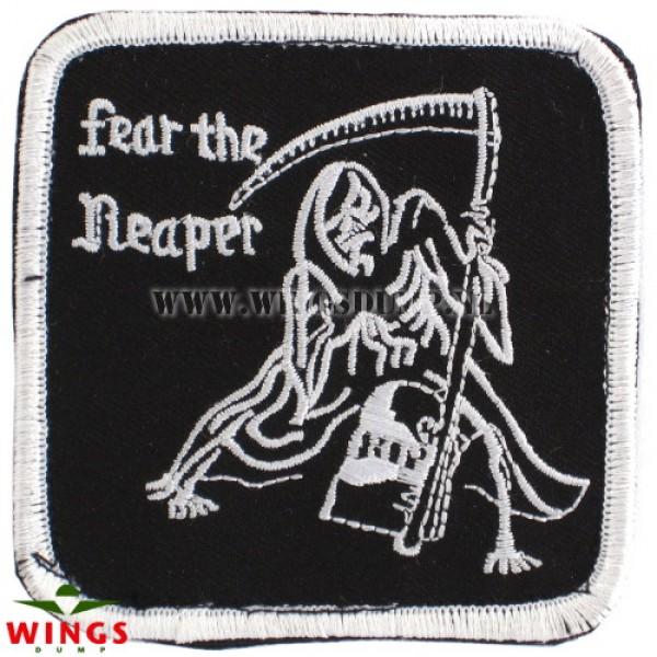 Embleem fear the reaper met velcro