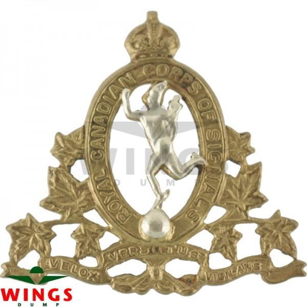 Embleem metaal Canadian Corps