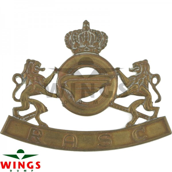 Embleem metaal Royal Army Service Corps