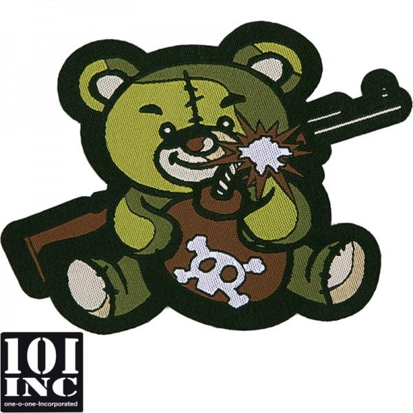Embleem stof met velcro terror teddy