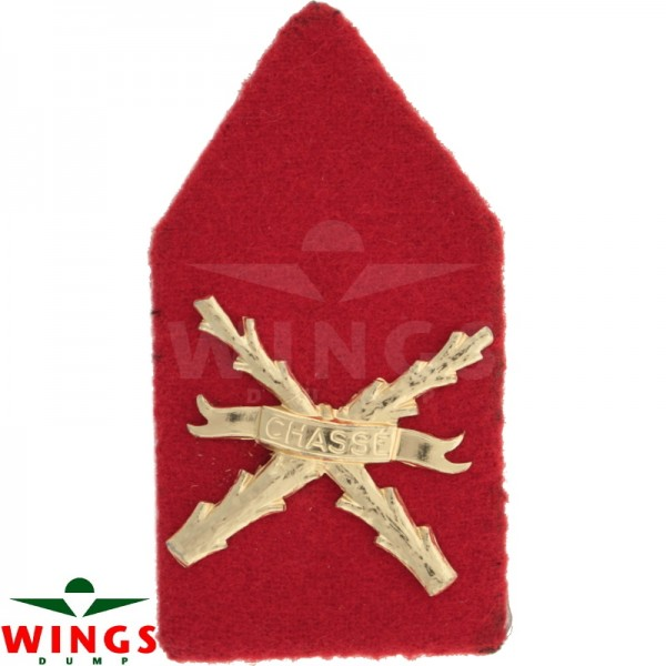 Kraagspiegel regiment infanterie chasse