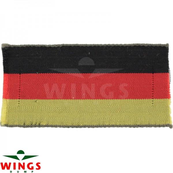 Embleem stof Duitsland klein 62x32 mm