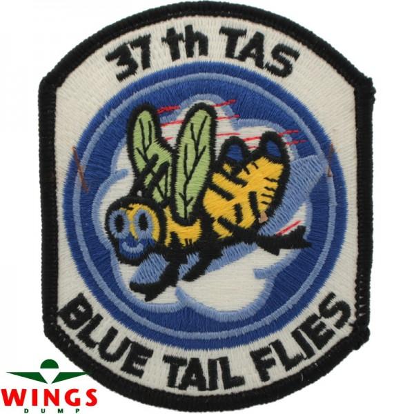 Embleem 37th T.A.S. Blue Tail Flies