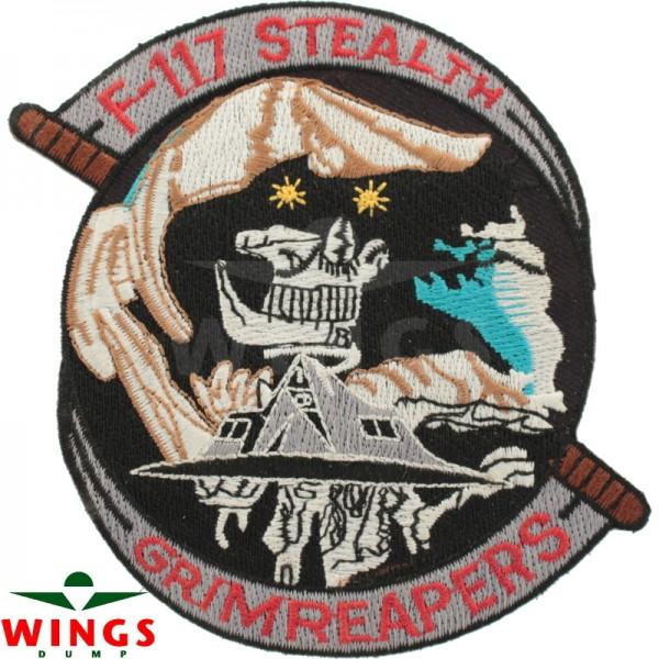 Embleem F-117 Stealth Grimreapers