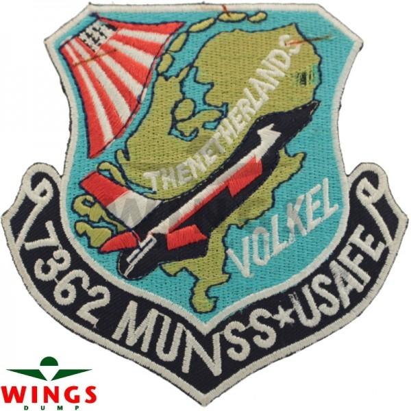 Embleem squadron 7362 Usafe Volkel