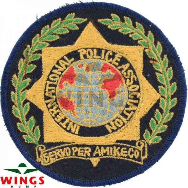 Embleem International Police Association