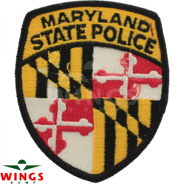 Embleem Maryland State Police