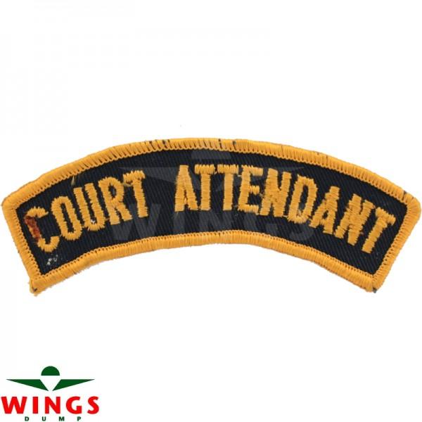 Embleem naamlint court attendant