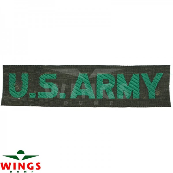 Embleem naamlint U.S. Army groen-groen