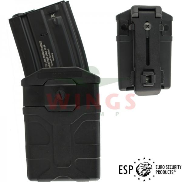 ESP belt magazijnhouder voor M4 zwart